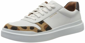 Cole Haan Women's Grandpro Rally Court Sneaker Optic White/Jaguar/Black/Optic White 7 (UK)