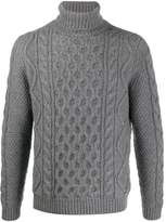 Alanui knitted roll neck jumper