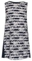 Mayoral Lace Stripe Floral Dress
