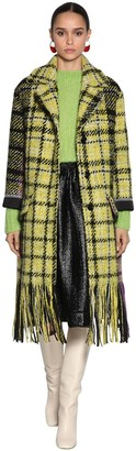 Marni Wool & Viscose Tweed Coat