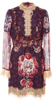 Anna Sui Decoupage Jacquard Dress