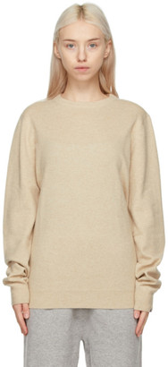 Extreme Cashmere Beige Cashmere N128 Be Sweater