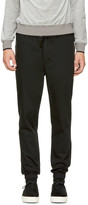 3.1 Phillip Lim Black Classic Side Zip Track Trousers