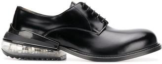 Maison Margiela clear heel Derby shoes