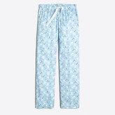 J.Crew Factory Printed flannel pajama pant