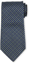 Stefano Ricci Neat Square-Dot Patterned Silk Tie