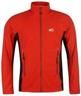 Millet Mens Vector Grid Fleece Jacket Stretch Panelling High Neck Full Zip Top