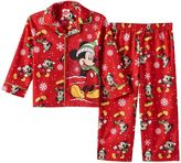 Disney Disney's Mickey Mouse Toddler Boy Holiday Shirt & Pants Pajama Set