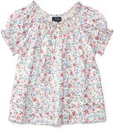 Ralph Lauren Cream Floral Batiste - Toddler & Girls