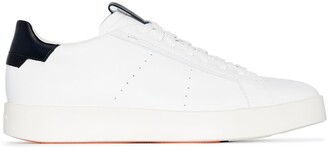 Santoni Low-Top Lace-Up Sneakers