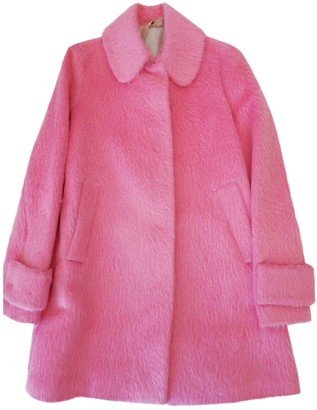 N°21 N21 Pink Wool Coat for Women