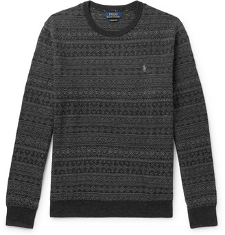 Polo Ralph Lauren Slim-Fit Fair Isle Merino Wool Sweater