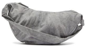 Lemaire Croissant Large Panelled Canvas Cross-body Bag - Mens - Grey