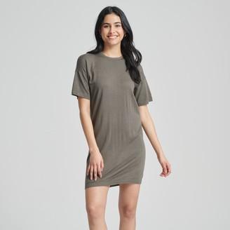 Naadam Summer Silk Everyday Shirt Dress