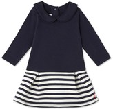 Petit Bateau Baby girls quilted dress