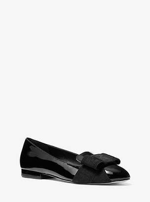 Michael Kors Ames Patent Leather Flat