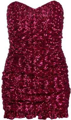 Giuseppe di Morabito Sequinned Mini Dress