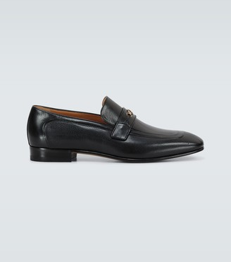 Gucci Dracma leather loafers
