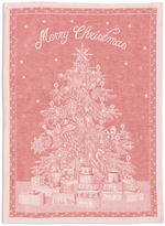 Sur La Table Merry Christmas Jacquard Kitchen Towel