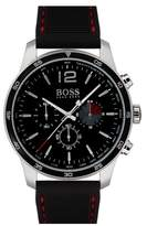 BOSS Professional Chronograph Leather Strap Watch, 42mm