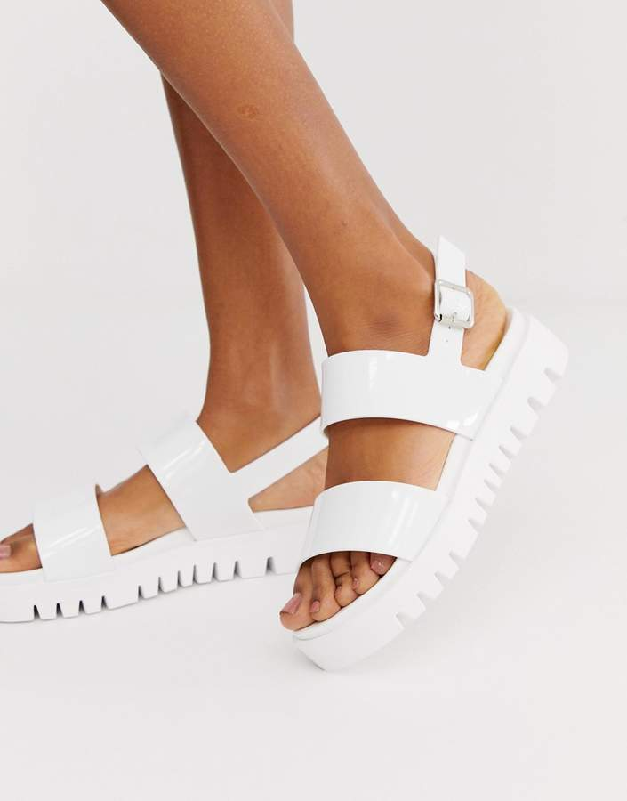 79c9b88067 Chunky Flat Sandals - ShopStyle