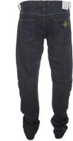 Stone Island Dark Wash Regular Tapered Fit Denim Jeans