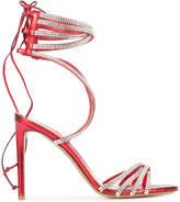 Alexandre Vauthier crystal embellished sandals