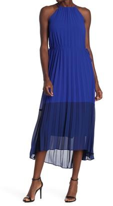 Taylor Color Blocked Chiffon Dress