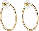 Kenneth Jay Lane WOMEN'S LARGE HOOPS-GOLD