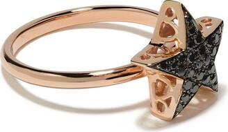 Selim Mouzannar 18kt rose gold diamond Star ring