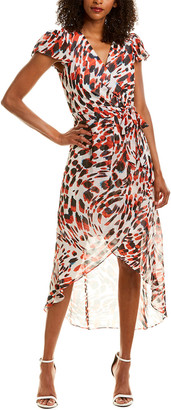 Julia Jordan Printed Maxi Dress