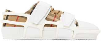 Burberry Beige Vintage Check Sneakers
