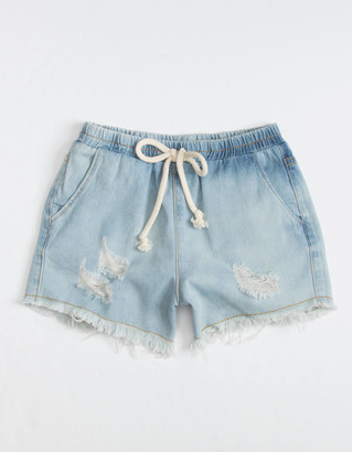 Hayden Distressed Girls Denim Shorts