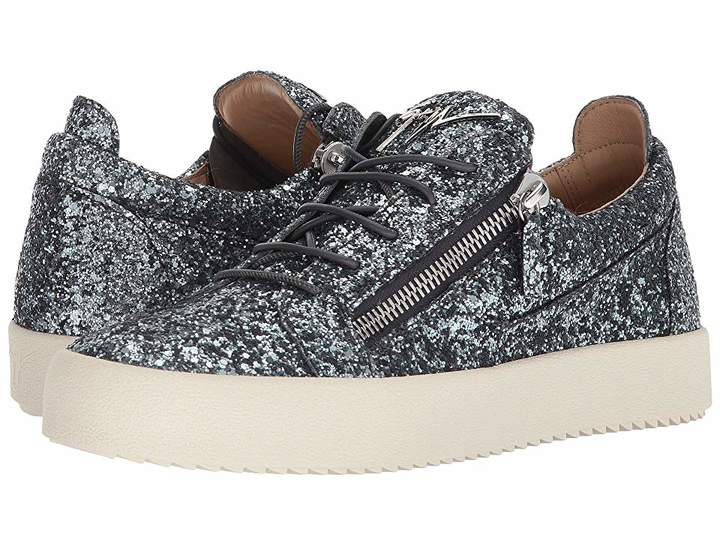 Giuseppe Zanotti May London Glitter Low Top Sneaker Men's Shoes
