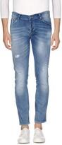 Grey Daniele Alessandrini Denim pants - Item 42639972