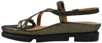 L'Amour des Pieds Leather Buckle Sandals - Verdun