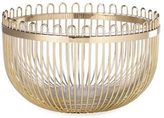 Kate Spade Keaton Street Goldplated Bowl