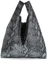 MM6 MAISON MARGIELA python printed tote bag