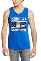 Nintendo Men's Keep It Classic- Tank T-Shirt