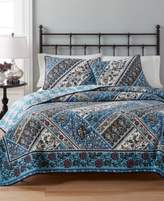Martha Stewart Collection Martha Stewart Collection Antique Market Reversible Full/Queen Quilt