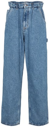 Miu Miu High-rise straight jeans