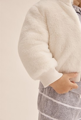 Country Road Faux Fur Jacket