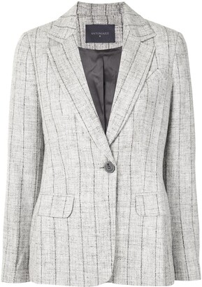 Lorena Antoniazzi Striped Print Blazer