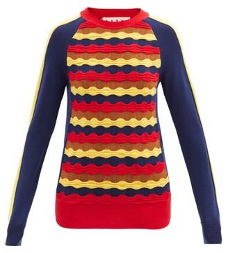 Marni - Wave-knit Wool Sweater - Multi