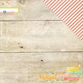 "Simple Stories Summer Vibes Double, Sided Cardstock, 25 Sheets, 12"" by 12"", Just Beachy"
