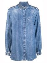 Balmain Pierre Studded denim shirt