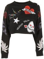 Philipp Plein Embellished Sweatshirt