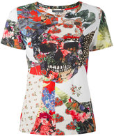 Alexander McQueen patchwork skull T-shirt - women - Cotton - 38