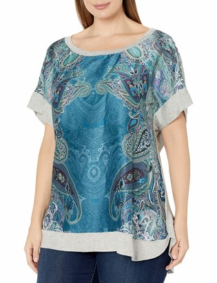 Single Dress Women's Plus Size Della Knit Back Top