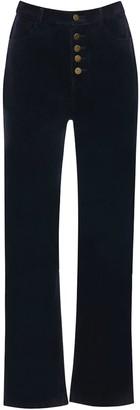 Hilary Macmillan Corduroy High Waisted Pants